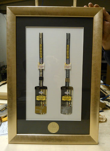 Grand Prix bespoke framing