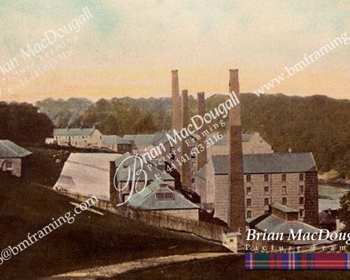 BL0008 - Blantyre Dye Works c1917