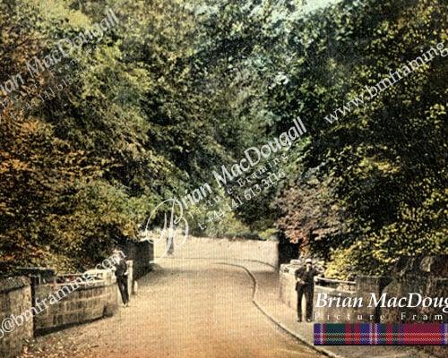 BL0009 - Generals Bridge Blantyre c1913