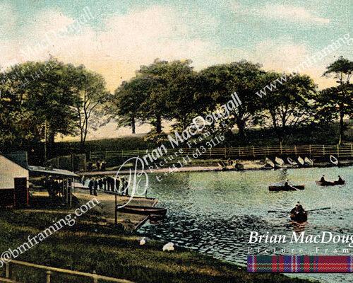 BS003 - Burnside Boating Pond c1920