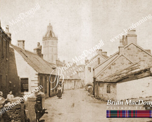 EK010 - Glebe Street & Post Office c1885