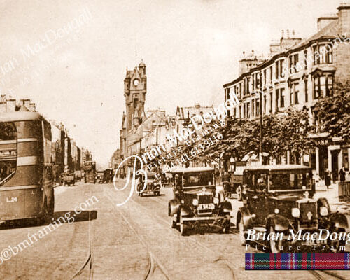 RG052 - Rutherglen Main Street with Cars