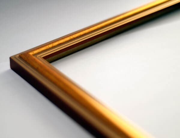 Image showing gold frame sample
