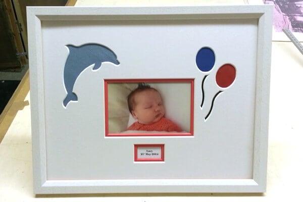 bespoke baby frame