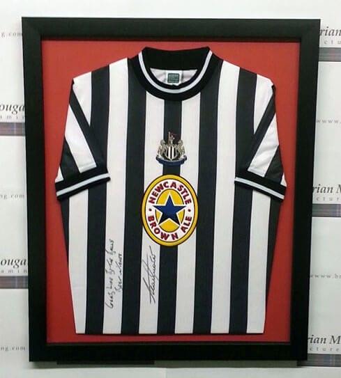 Framed football tops - Newcastle