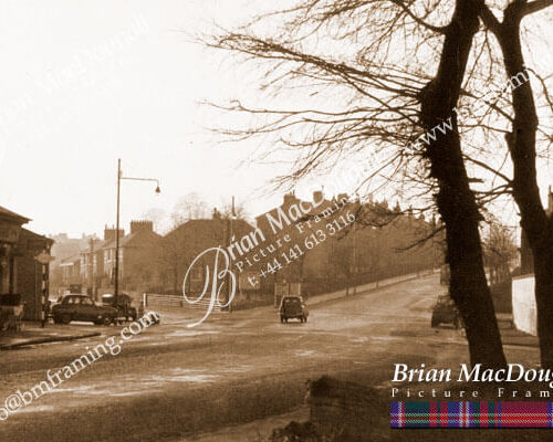 RG004 - East Main Street and-Hamilton Road Rutherglen c1957