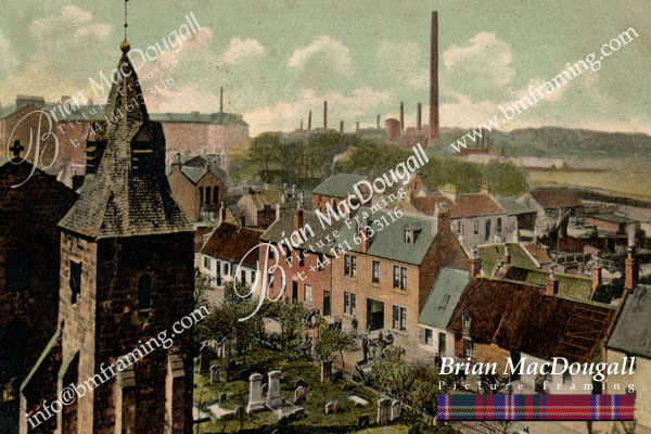 RG013 - Old Rutherglen from parish church tower
